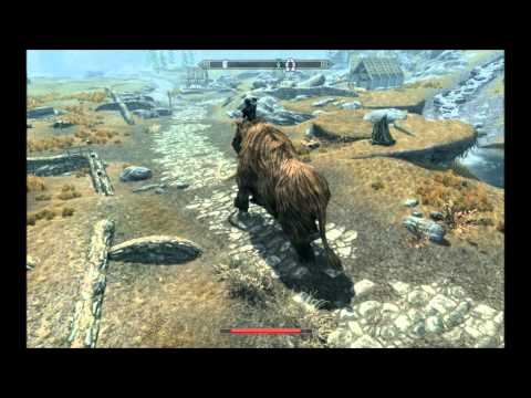 Skyrim Mammoth vs Dragon Tytanis Mod Skyrim Mammoth
