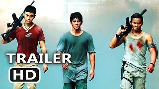 TRIPLE THREAT Official Trailer (2017) Tony Jaa, Iko Uwais, Scott Adkins Action Movie HD