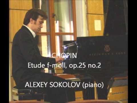 Шопен Фредерик - Этюд (фа минор), op.25 №2
