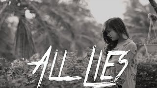 ALL LIES - Heartbreaking Sad Emotional Piano Rap Beat | Sad Type Instrumental