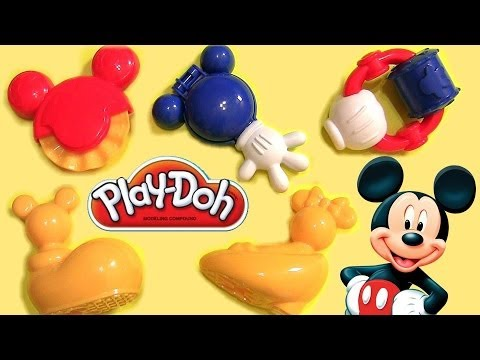Play Doh Mouskatools Mickey Mouse Clubhouse Toodles Set Disneyplaydough Mouska T