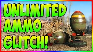 Fallout 4 - UNLIMITED Ammo Glitch! (Fast Ammo & Bottlecap Glitch)