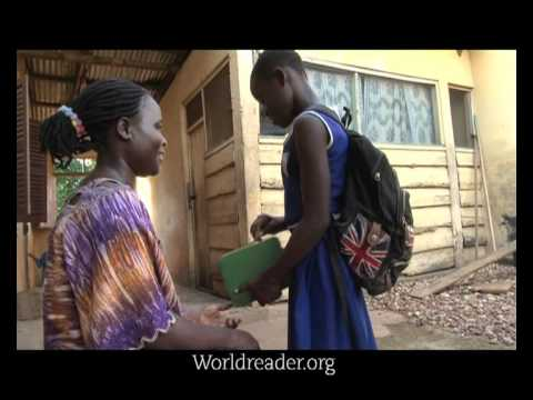 Worldreader.org iREAD Launch in Adeiso and Kade, Ghana