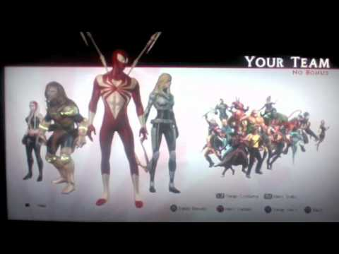 Costume Marvel Ultimate Alliance Marvel Ultimate Alliance 2
