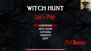 The Spookiest Game Ever! Let's Play Witch Hunt