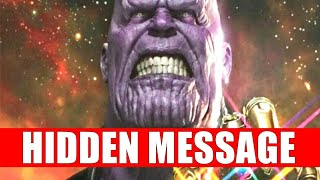 AVENGERS INFINITY WAR HUGE HIDDEN MEANING THAT YOU MISSED | THANOS HAS THE CONNECTION YOU MUST MAKE