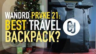 WANDRD PRVKE 21 Hands-On Review - Best Travel Camera Backpack?