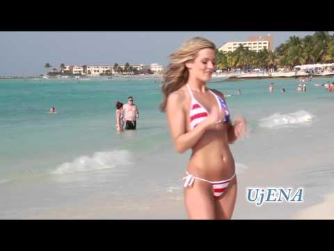 UjENA Big Star Fourth of July Tonga Bikini