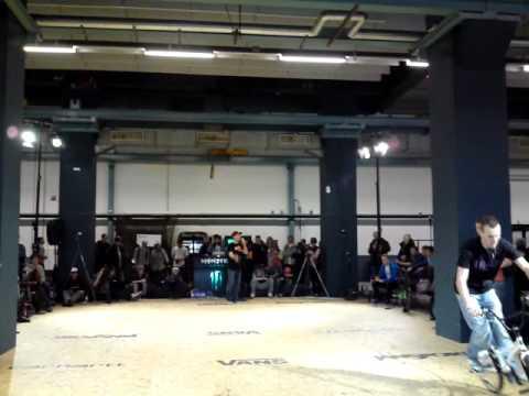 Sascha Heydemann, Rebel Jam 2011 Eindhoven