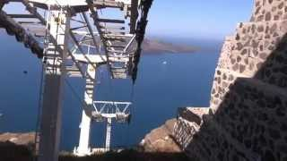 SANTORINI -  CABLE CAR
