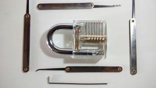 Como abrir candados y cerraduras usando ganzúas - Como funciona un candado