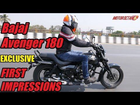 2018 Bajaj Avenger 180 Street First Impressions in Hindi   MotorOctane