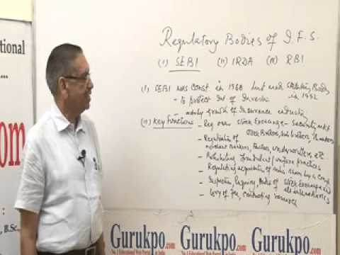SEBI as Regulatory Body in Indian Financial System Lecture by Mr. B.K. Jain.