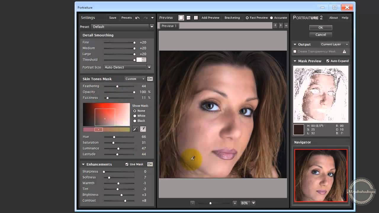 Photoshop CS6 Plugin presentation: Portraiture (face ...