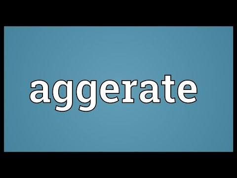 Header of Aggerate