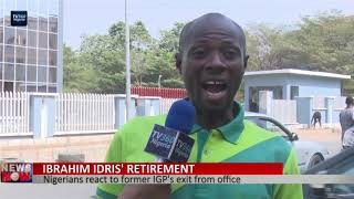 Nigerians react TO Idris' retirement from Police Force
