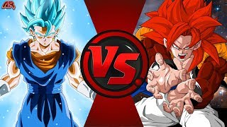 VEGITO vs GOGETA! (Dragon Ball Super vs Dragon Ball GT) CFC EP 186 ft. UnrealEntGaming