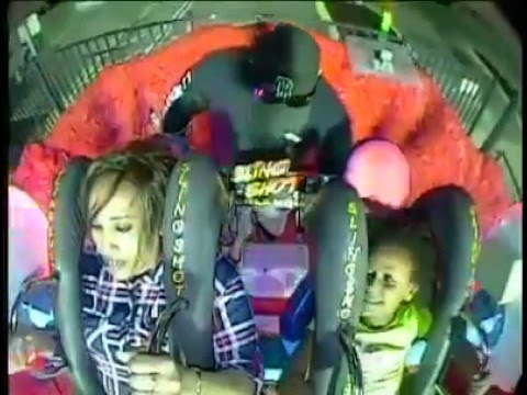 Ethiopian mom and daughter on a roller coaster - their reaction is very funny thumbnail