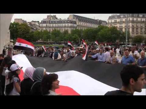 من الجالية السورية في باريس إلى روح ابراهيم قاشوش