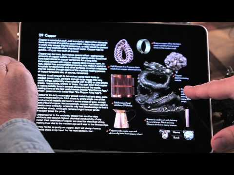The Elements ebook for iPad Video