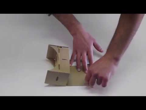 Google Cardboard VR Portugal: Como Montar/how To Assemble Google Cardboard