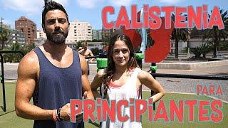 CALISTENIA PARA PRINCIPIANTES - COMO EMPEZAR DESDE CERO - YERAI STREET WORKOUT