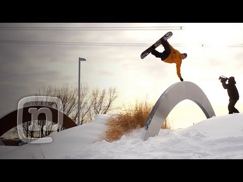Whoops! Snowboard Slams With Frank April, LNP & Louif Paradise: Deja Vu Movie Ep. 8