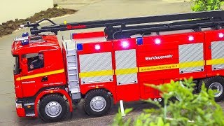 TOP OF RC FIRE TRUCKS & MORE 2016-2018!! RC RESCUE TRUCKS, RC AMBULANCE, FIREFIGHTERS!!