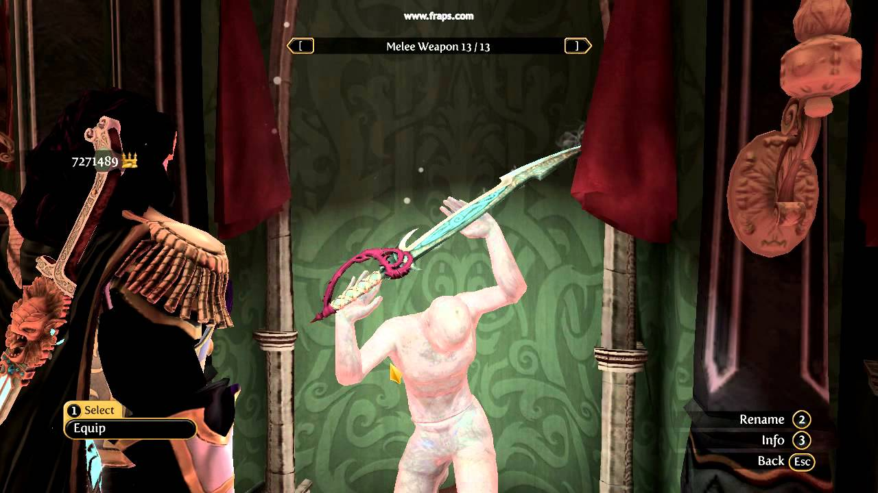 Fable Evil Hero Fable 3 Hero Weapons 1i
