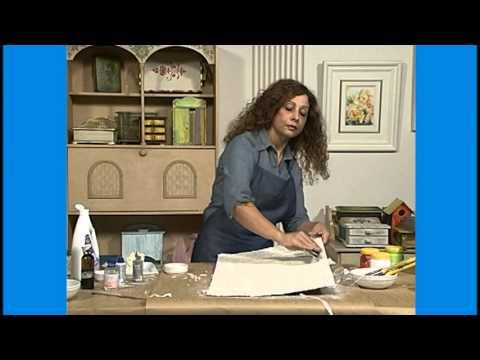 Curso Pinturas Decorativas em Madeira - Pátina Texturizada - Cursos CPT