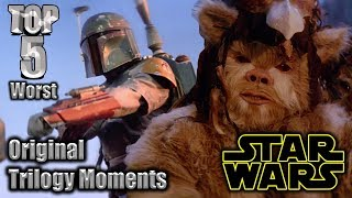 Top 5 Worst Star Wars Original Trilogy Moments