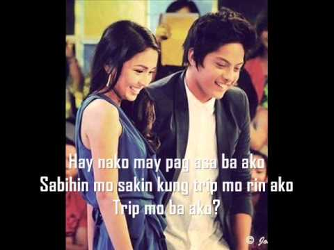 Hay Nako By Lj Manzano (KathNiel) with Lyrics