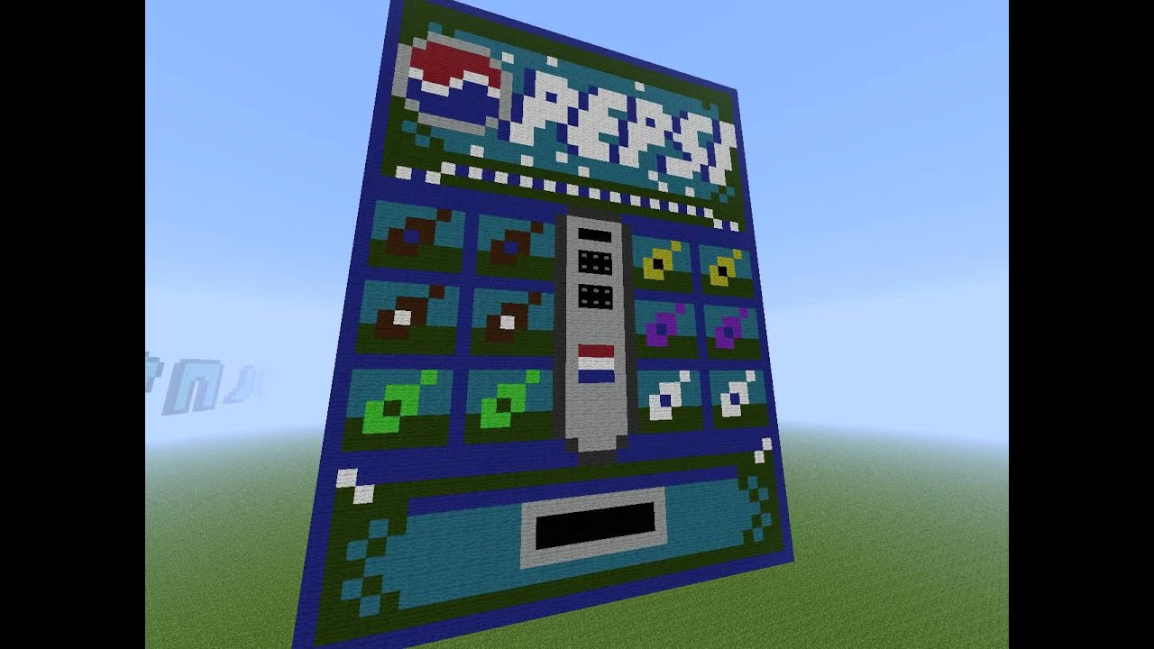 How To Build A Vending Machine In Minecraft Xbox