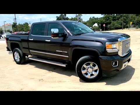 2015 GMC Sierra Denali HD Duramax Diesel Review