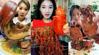 EATING SHOW COMPILATION - CHINESE FOOD - #ASMR - COMIDAS CHINESAS ESTRANHAS E EXÓTICAS #35