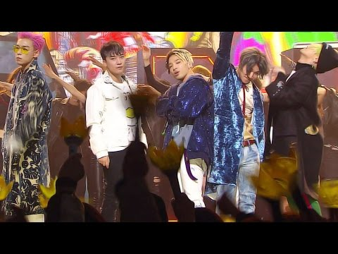 《EXCITING》 BIGBANG - FXXK IT (에라 모르겠다) @인기가요 Inkigayo 20170108
