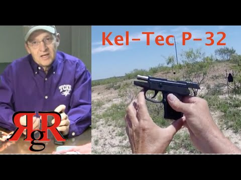 Kel-Tec P-32 On the Range Review
