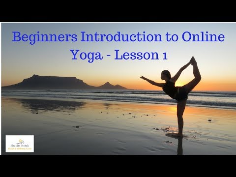 Introduction to Online Yoga - Lesson 1