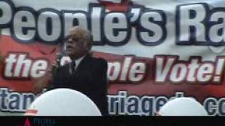 Compiled Footage of Speakers at a DC Anti-Marriage Equality Rally (Edited)