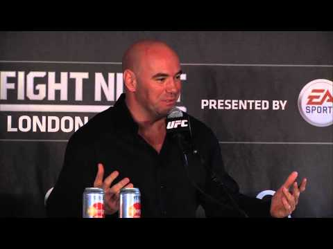 Fight Night London Postfight Press Conference