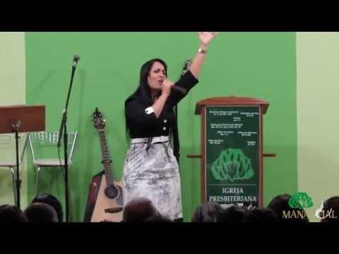Tangela Vieira - Testemunho e Lançamento do CD e DVD  - IPB Manancial Aracruz