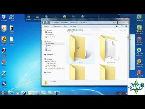 How to install .Packages files (mods)  for The Sims 3