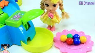 ChiChi ToysReview TV - Trò Chơi cuộc thi ếch tranh giành ăn kẹo của búp bê