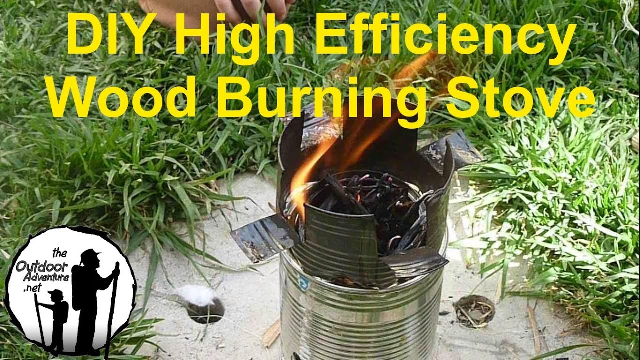 DIY: How to make a backpacking wood gasifier stove - YouTube