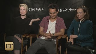 ET Online - Into the Forest Cast Interview (07/27/2016)