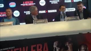 Terry Flanagan - Petr Petrov press conference