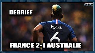 FRANCE 2-1 AUSTRALIE (Debrief)