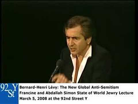 0 Bernard Henri Lévy at the 92nd Street Y