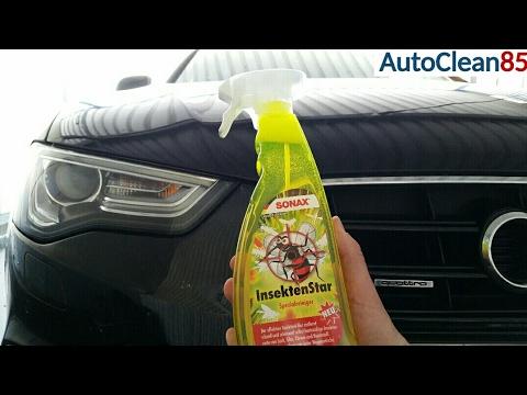 Sonax Insektenstar im Test / Insekten vom Autolack entfernen
