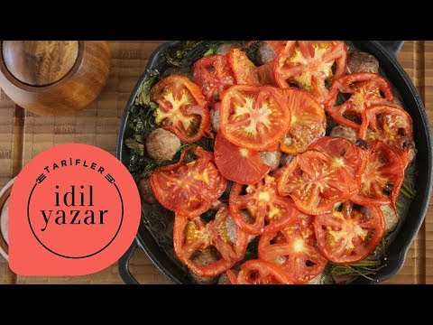 Fırında Domatesli Köfte Tarifi - İdil Tatari - Yemek Tarifleri